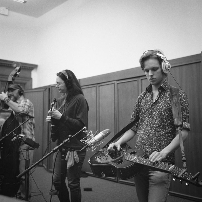 Recording project - Photo by Ben Bateson
