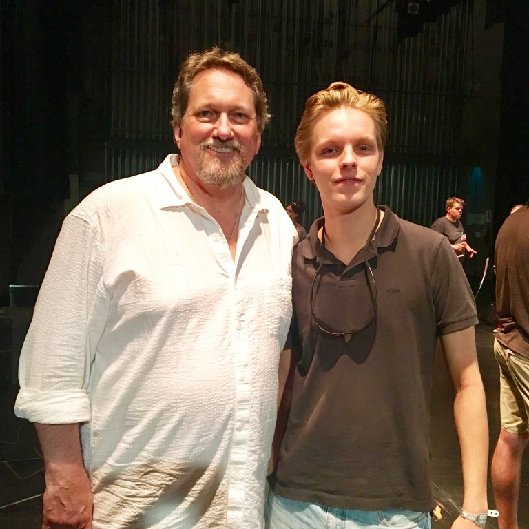 With Jerry Douglas (Flux) @ Merlefest