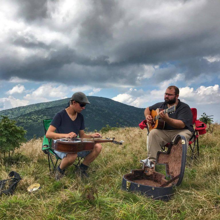 Griffith & Schinkel duo on Buffalo Mountain
